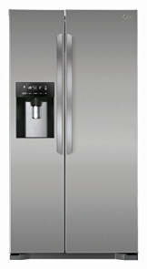 LG GSL 325 PZYZ  Side by Side (A++, Kühlen: 346 L, Gefrieren: 162 L, No-Frost, Cushed Ice, Wasserspender) steel - 1