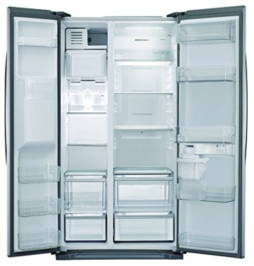 LG GSL 325 PZYZ  Side by Side (A++, Kühlen: 346 L, Gefrieren: 162 L, No-Frost, Cushed Ice, Wasserspender) steel - 2