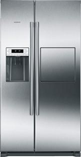 Siemens KA90GAI20 Side-by-Side / A+ / 177.0 cm Höhe / 432 kWh / Kühlteil / 163 Liter Gefrierteil / no-Frost-Technik gegen Eis- und Reifbildung / grau - 1
