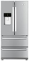 Beko GNE 60520 DX Side by Side / A+ / Kühlen: 383 L / Gefrieren: 149 L / Edelstahl Fingerprint Free / No Frost / Wasser- und Eiswürfelspender / French Door / 0°-Zone / Festwasseranschluss - 1