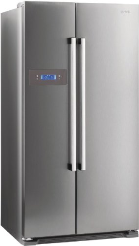 Gorenje NRS85728X Side by Side / A+ / Kühlteil: 349 L / Gefrierteil: 192 L / Inox Finger Touch Free / Quick Cooling Funktion / LCD Display zweizeilig / Abtau-Vollautomatik NoFrost / - 1