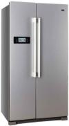 Haier HRF-628DF6 Side-by-Side / A+ / 179 cm Höhe / 449 kWh/Jahr / 380 L Kühlteil / 199 L Gefrierteil / Tür Display, einfache Einstellung, alles unter Kontrolle / edelstahllook - 1