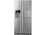 LG GS 3159 PVAV1 Side by Side / A+ / Kühlen: 346 L / Gefrieren: 159 L / Grau / NoFrost / Eis-, Crushed Ice- und Wasserspender - 1