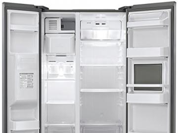 LG GS 3159 PVAV1 Side by Side / A+ / Kühlen: 346 L / Gefrieren: 159 L / Grau / NoFrost / Eis-, Crushed Ice- und Wasserspender - 3
