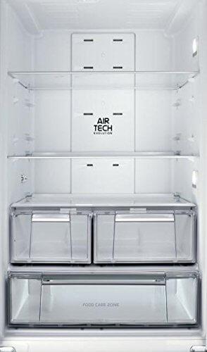 Hotpoint E4DG AAA X MTZ Side-by-Side / 195.5 cm Höhe / 278 kWh/ 298.0 Liter Kühlteil / 87.0 Liter Gefrierteil / Multi-Temperatur-zone / edelstahl -